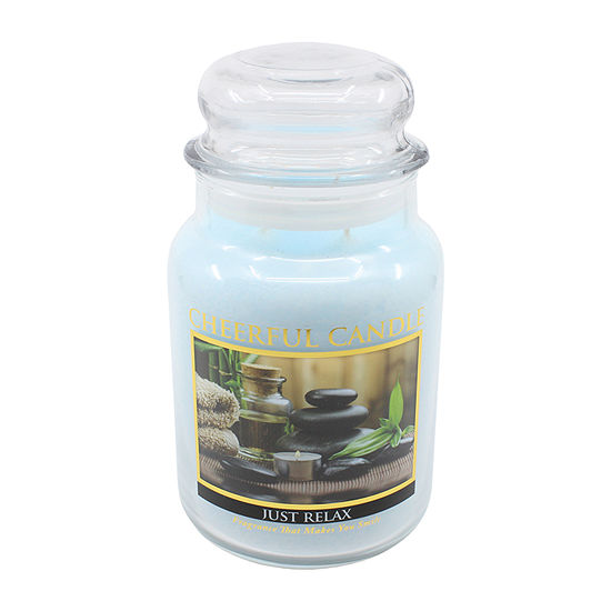 A Cheerful Giver 24oz Just Relax Jar Candle