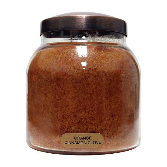 A Cheerful Giver 34oz Papa Orange Cinn.Clove Jar Candle