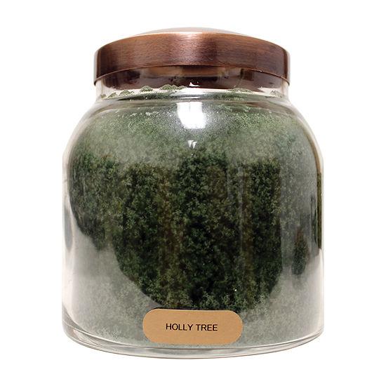 A Cheerful Giver 34oz Papa Holly Tree Jar Candle