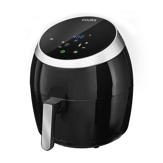 Cooks 6 Quart Digital Air Fryer 22289/22289C, Color: Black