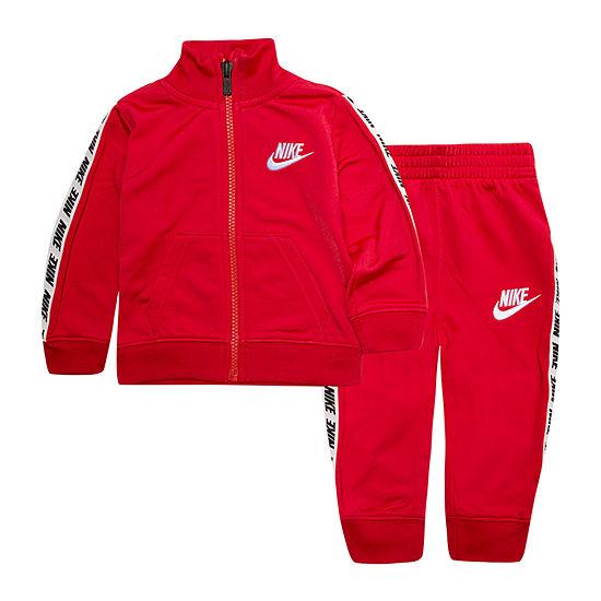 Nike Taping Boys 2-pc. Logo Track Suit Baby