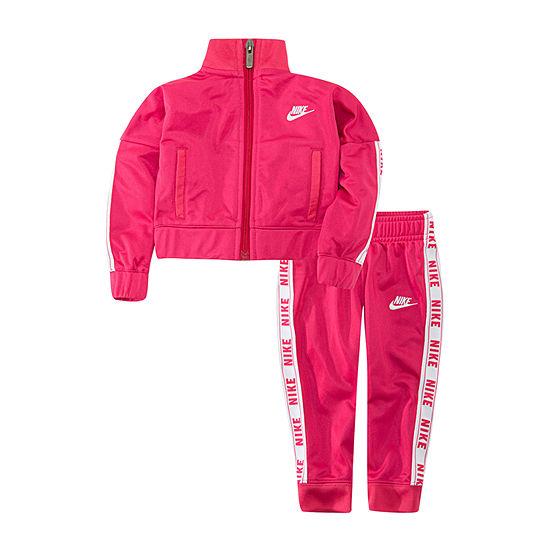 Nike Taping Girls 2-pc. Logo Pant Set Baby