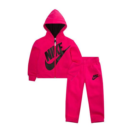 Nike Nike Girls 2-pc. Logo Pant Set Toddler