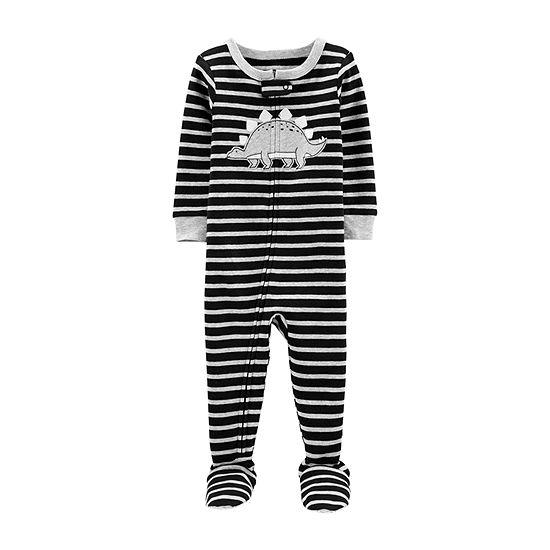 Carter's Boys One Piece Pajama Long Sleeve Crew Neck