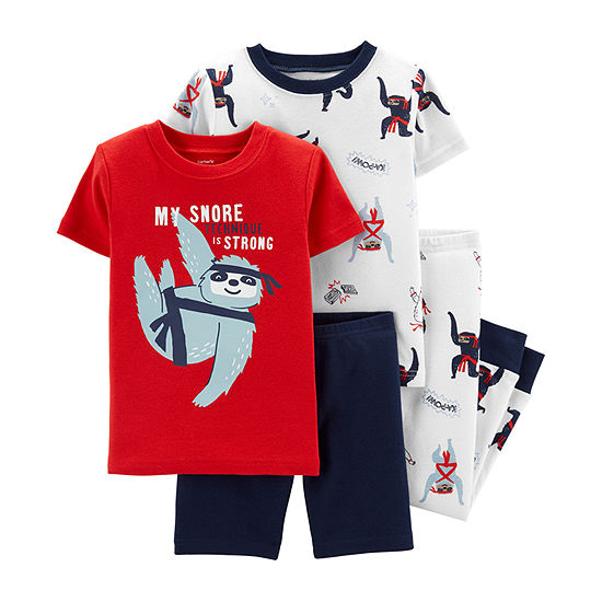 Carter's 4-pc. Pajama Set Baby Boys