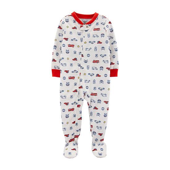 Carter's Boys One Piece Pajama Long Sleeve