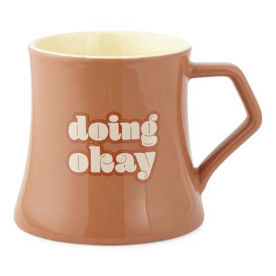 Home Expressions Modern Retro Doing Okay Coffee Mug