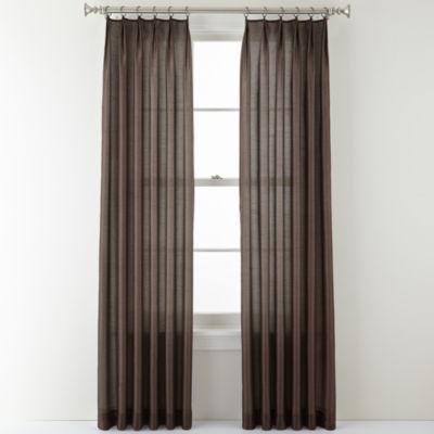Royal Velvet® Encore Ring-Top Curtain Panel