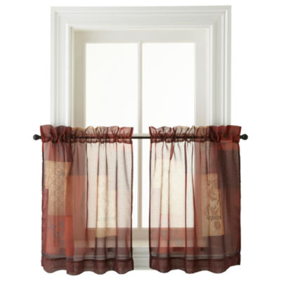 Eden Rod-Pocket Window Tiers