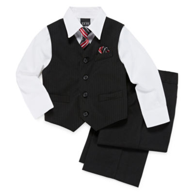 TFW Striped 4-pc. Vest Set - Boys 4-10
