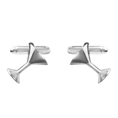 Martini Glass Cuff Links