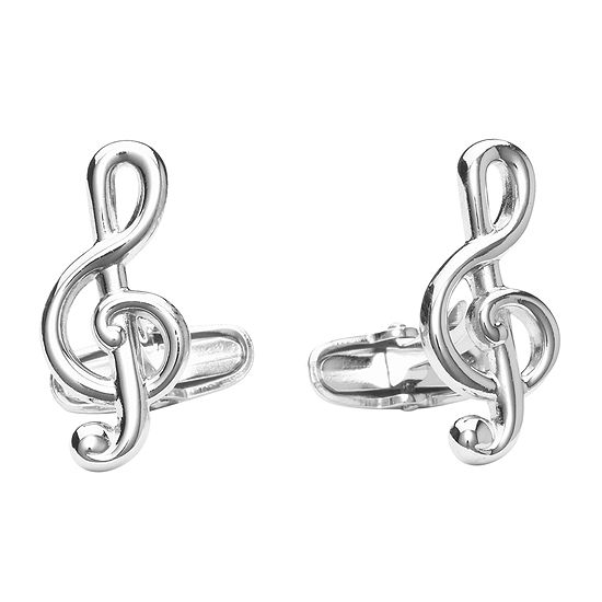Treble Clef Cuff Links