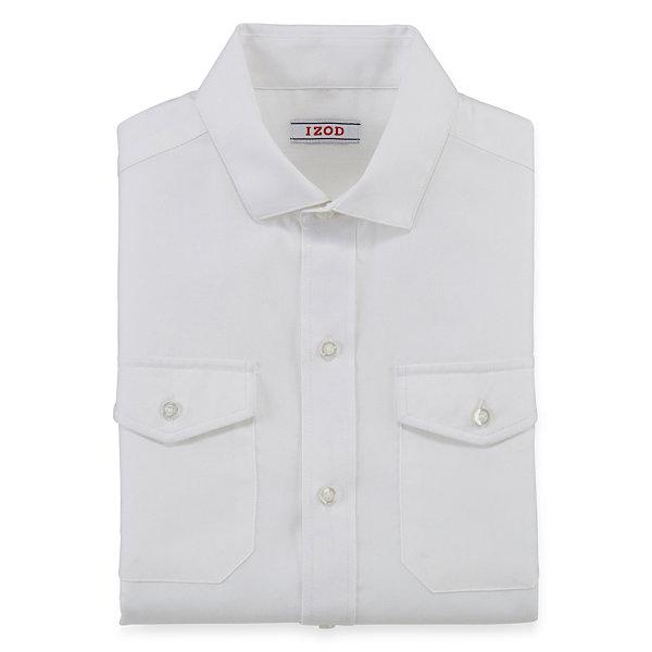 Izod Herringbone Shirt 1