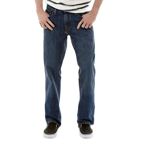 Arizona Mens Original Straight Fit Jean, 40 34, Blue