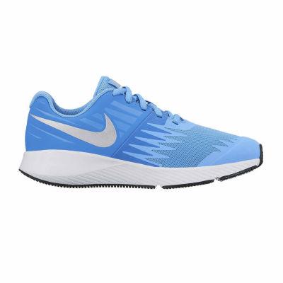Nike Big Kids Girls Running Shoes Lace-up