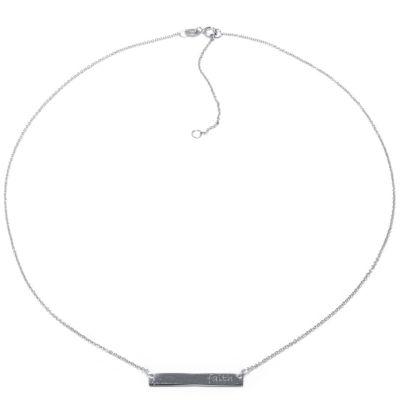 Silver Treasures Faith Womens Pendant Necklace