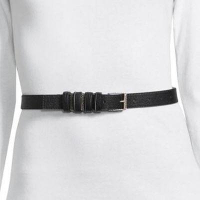 Libby Edelman Skinny Multi Loop Belt