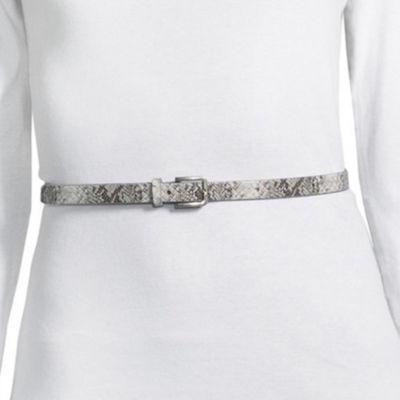 Libby Edelman 2 For 1 Skinny Belt
