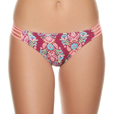 Arizona Pattern Hipster Swimsuit Bottom-Juniors