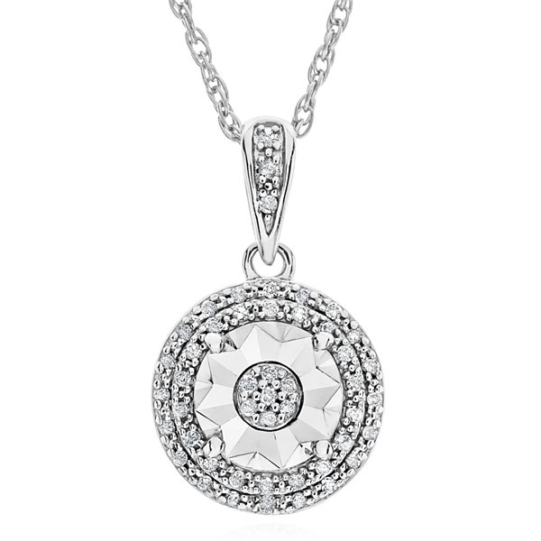 Limited time special 110 ct tw double halo diamond pendant tw double halo diamond pendant necklace in mozeypictures