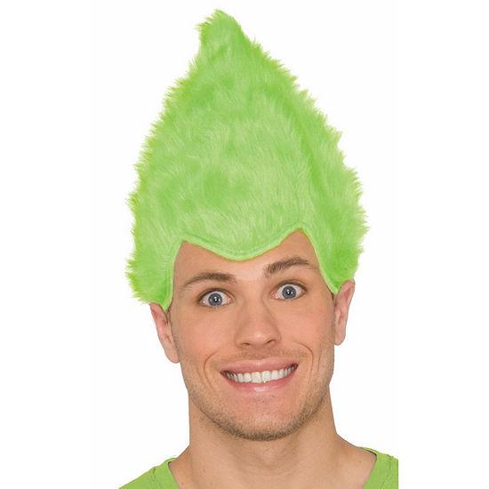 Buyseasons Fuzzy Wig Unisex Dress Up Accessory