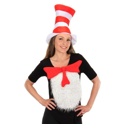 Buyseasons Cat In The Hat Dress Up Costume Unisex