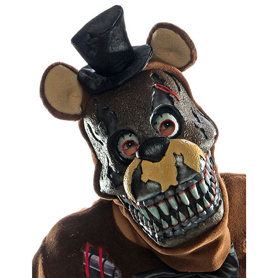 Five Nights At Freddy'S - Nightmare Adult Pvc Mask Unisex Costume
