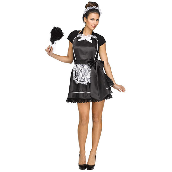 Buyseasons French Maid Apron Dress Up Costume Womens