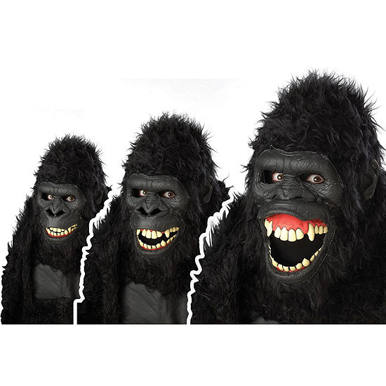 Buyseasons Goin' Ape Ani-Motion Adult Mask Dress Up Costume Unisex