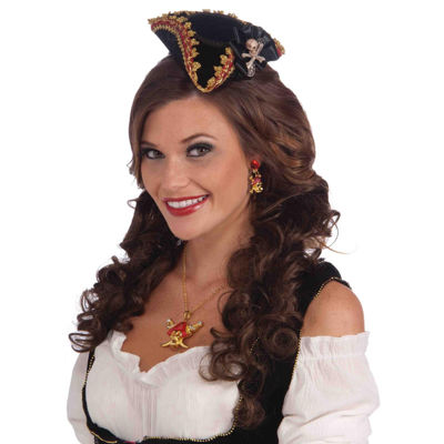 Buyseasons Lady Buccaneer Mini Hat Womens Dress Up Accessory