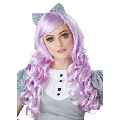 Buyseasons Lavender Cosplay Doll Adult Wig W Dress Up Costume Unisex