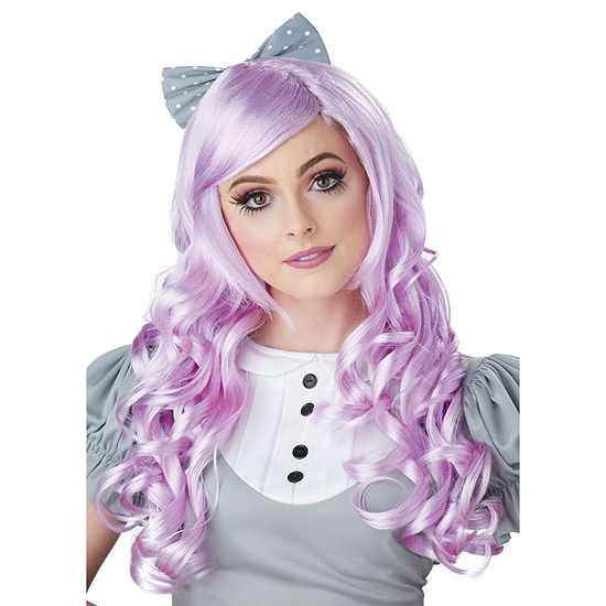Lavender Cosplay Doll Adult Wig W