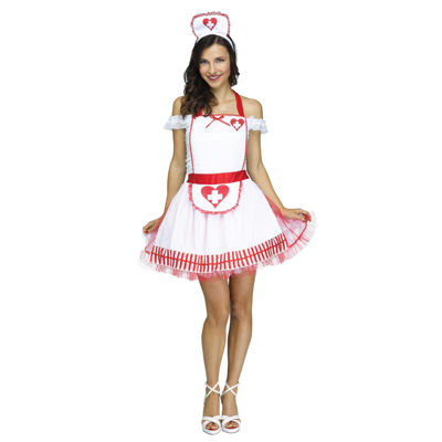 Buyseasons Nurse Apron Dress Up Costume Unisex