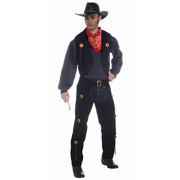 Vest and Chaps Set Costume - Adult Standard
