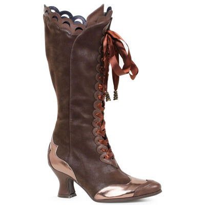 Buyseasons Brown Boots Dress Up Shoes
