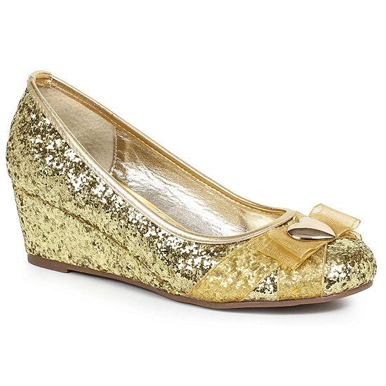 Princess Glitter Shoe W/ Heart Decor Adult