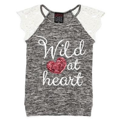 Miss Chievous Graphic T-Shirt-Girls' 7-16 & Plus