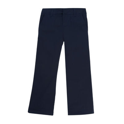 French Toast Girls High Waisted Bootcut Flat Front Pant