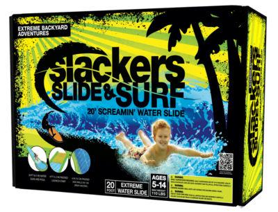 Slide & Surf Screamin 20' 4-pc. Water Toy Unisex
