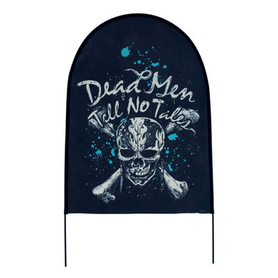 Pirates of the Caribbean Dead Men Tell No Tales 23Fabric Tombstones (Set of 3)