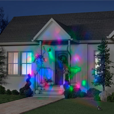 Red Green Blue Fire and Ice Projection Light