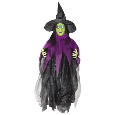 3' Hanging Light up Witch