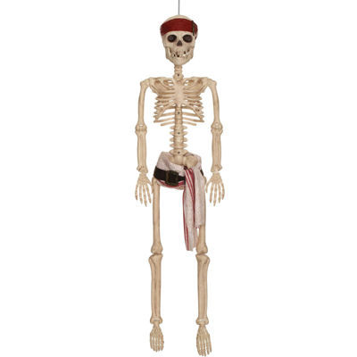 Pirates of the Caribbean - 36 Jack Sparrow Hanging Poseable Skeleton