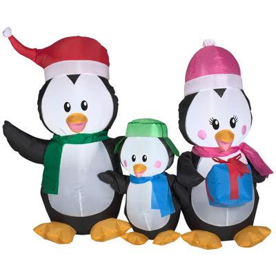 Airblown Penguin Family