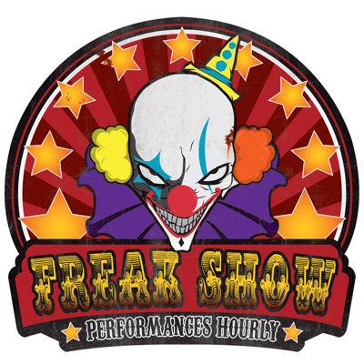 Metal Sign - Freak Show