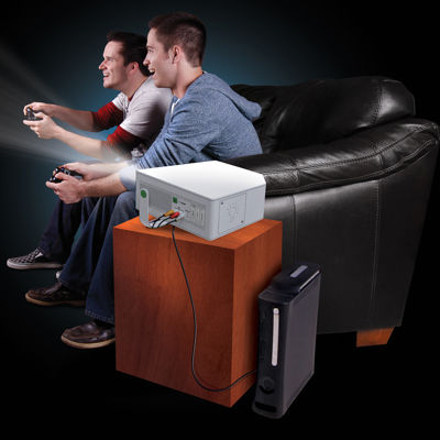 The Black Series Portable Entertainment Projector - 120""