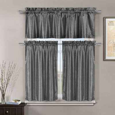 Duck River Minka 3-pc. Kitchen Curtain Set