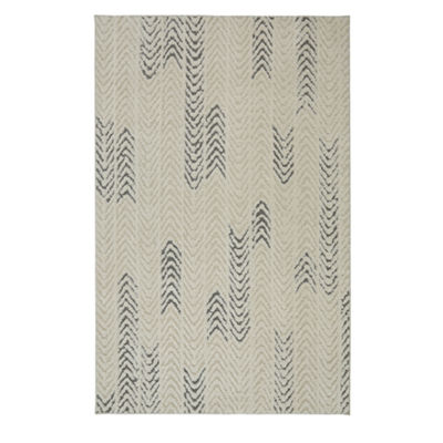 Mohawk Home Loft Arrow Waves Rectangular Indoor Area Rug