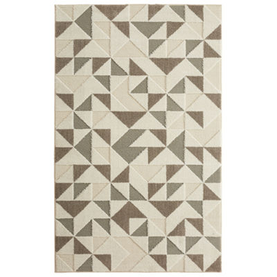 Mohawk Home Loft Modern Triangles Rectangular Rugs