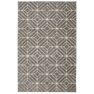 Mohawk Home Loft Quilted Geo Rectangular Rugs
